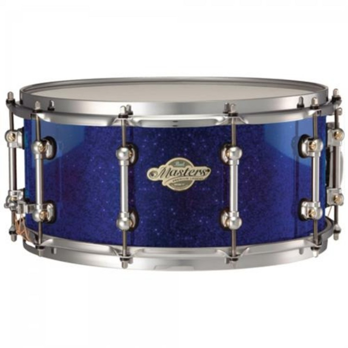 pearl masters premium snare drum 14 x 5 5 inch navy blue sparkle at gear4music. Black Bedroom Furniture Sets. Home Design Ideas