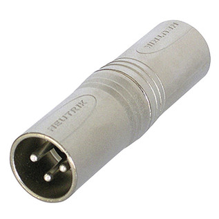 Neutrik NA3MM XLR Male/XLR Male Adaptor