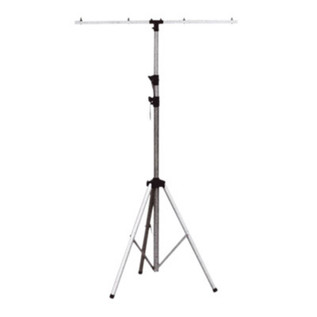SoundLab Adjustable Aluminium Lighting Stand, Silver
