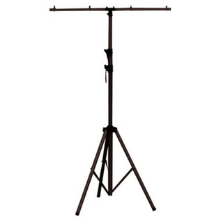 SoundLab Adjustable Aluminium Lighting Stand, Black