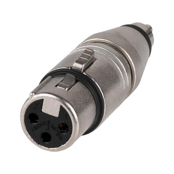 Neutrik NA2FPMM Female XLR - Male RCA Adaptor
