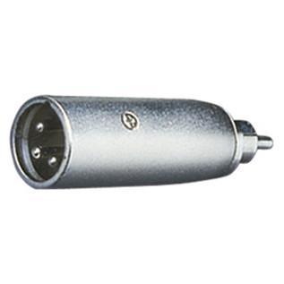 Electrovision XLR Male/RCA Phono Male Adaptor