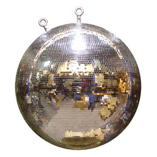 SoundLab Silver Professional Mirror Ball, 40