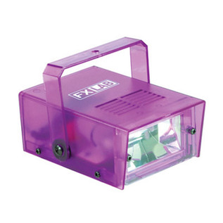 SoundLab 14W Plastic Mini Strobe, Purple