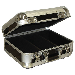 Electrovision Euro Style 150 CD Case with Lid and Soft Lining, Black