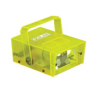 SoundLab 14W Plastic Mini Strobe, Yellow