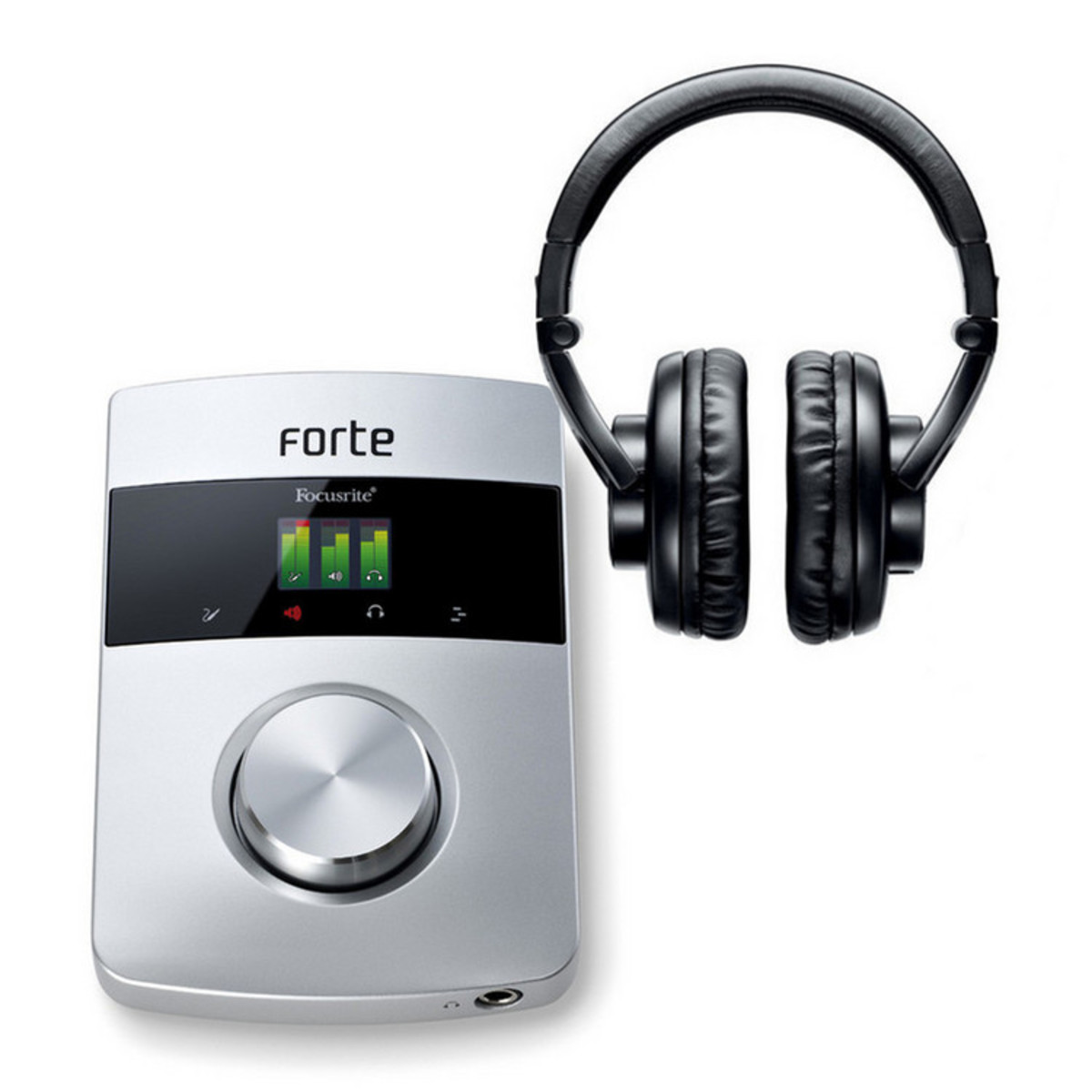 focusrite forte usb interface audio casque shure srh440. Black Bedroom Furniture Sets. Home Design Ideas