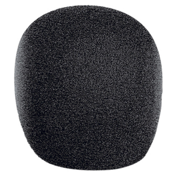 Electrovision Black 22x45 (Int.) Foam Microphone Windshield