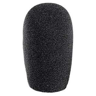 Electrovision Black 22x50 (Int.) Foam Mic Windshield, 3 Pack