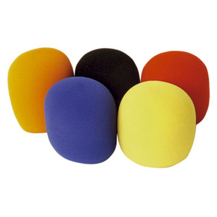 Electrovision Coloured 35mm Microphone Windshield (Pack of 5)