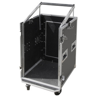 Electrovision Semi Flight 16U Rack Case with Lid and Castors (Main 2)
