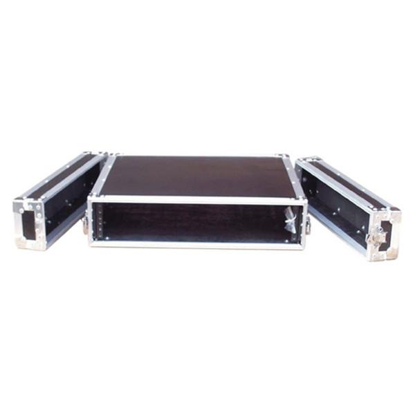 Electrovision Semi Flight Rack Case in Laminate Board, 2U (Main 1)