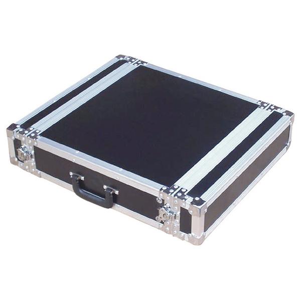 Electrovision Semi Flight Rack Case in Laminate Board, 2U (Main 2)
