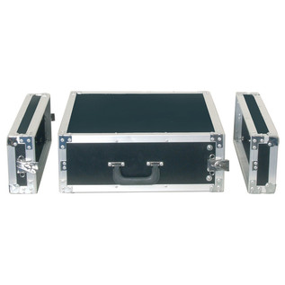 Electrovision Semi Flight Rack Case in Laminate Board, 3U (Main 2)