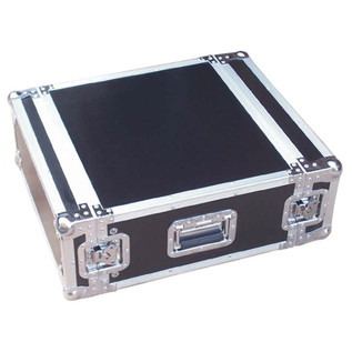 Electrovision Semi Flight Rack Case in Laminate Board, 4U (Main 2)