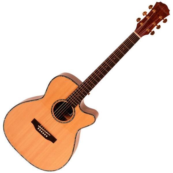 Freshman AB3 Spring Electro Acoustic Guitar with Hardcase
