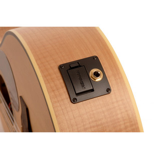 Freshman FA1AM12 12-String Acoustic Guitar, Natural Input