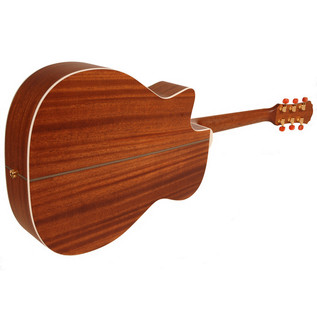 Freshman FA250GAC Acoustic Guitar, Natural Rear