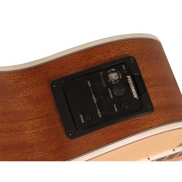 Freshman FA250GAC Acoustic Guitar, Natural Electronics