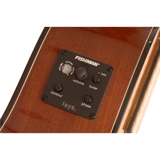 Freshman Classical Cutaway Electro Acoustic Guitar Electronics