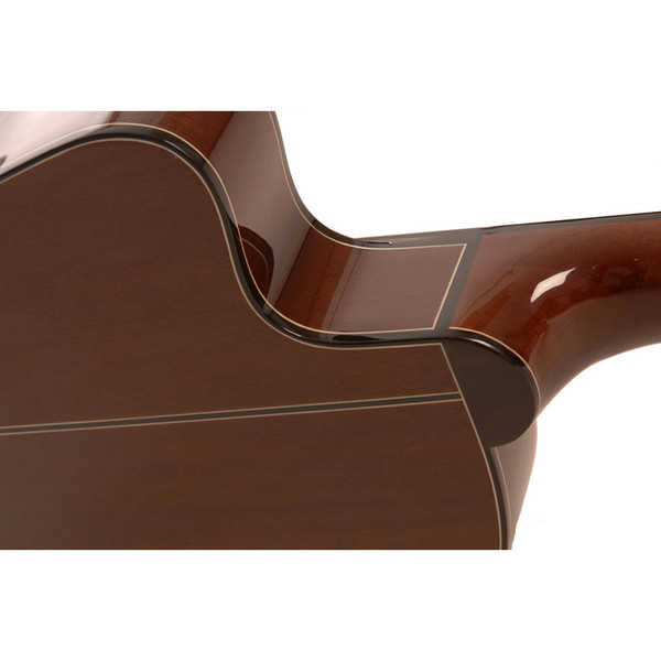Freshman Classical Slim Body Electro Acoustic Guitar Rear