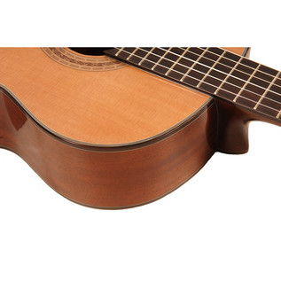 Freshman Classical Electro Acoustic Guitar with Hardcase Detail