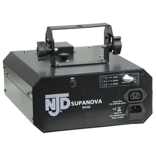 NJD Supanova Lighting Effect with 3 Rotating Dichroic Mirrors (Back)