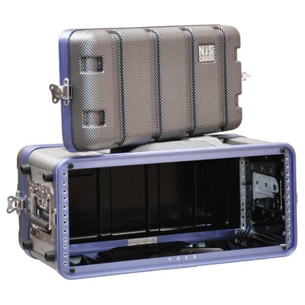 NJS Heavy Duty ABS Short Rack Case, 4U