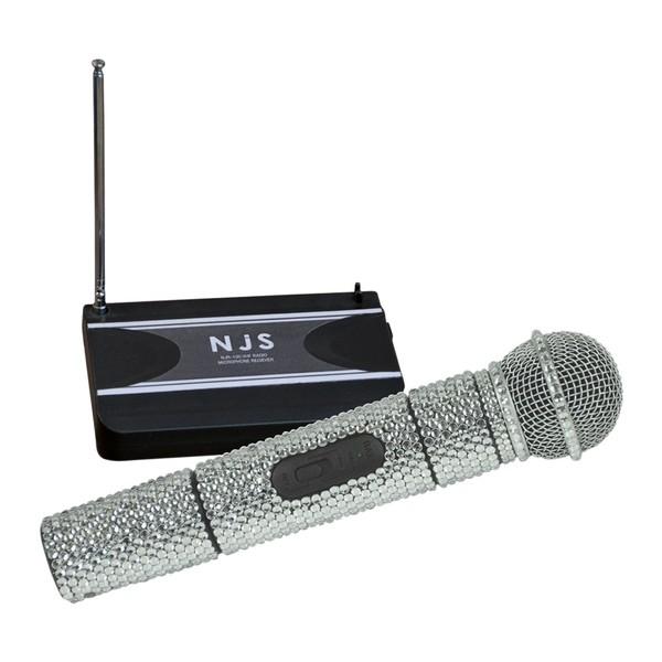 NJS Sparkling Wireless Radio Microphone System