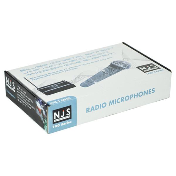 NJS Sparkling Wireless Radio Microphone System (174.1 MHz)