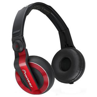Pioneer HDJ-500R DJ Headphones, Red