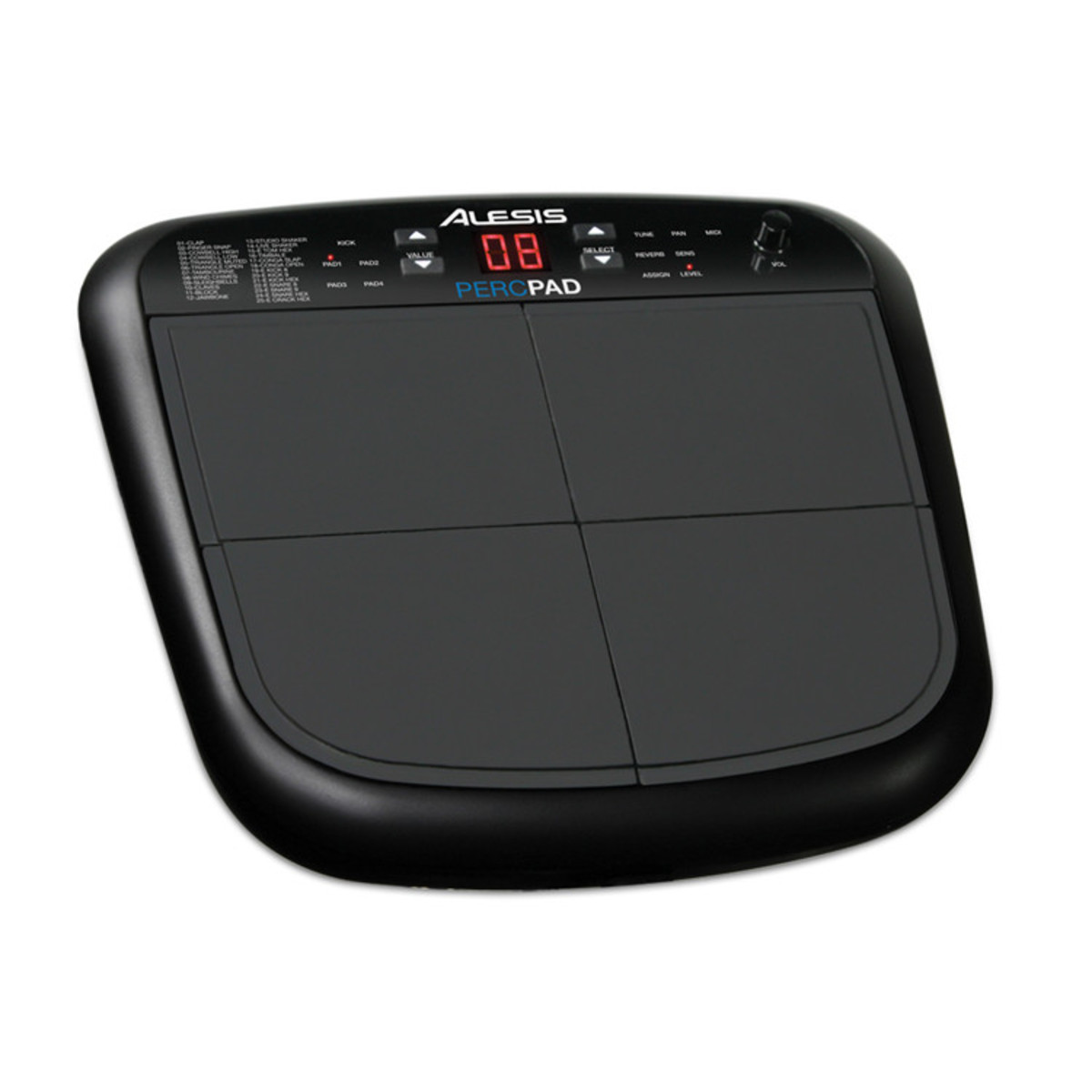 Alesis Percpad Compact Electronic Percussion Instrument At