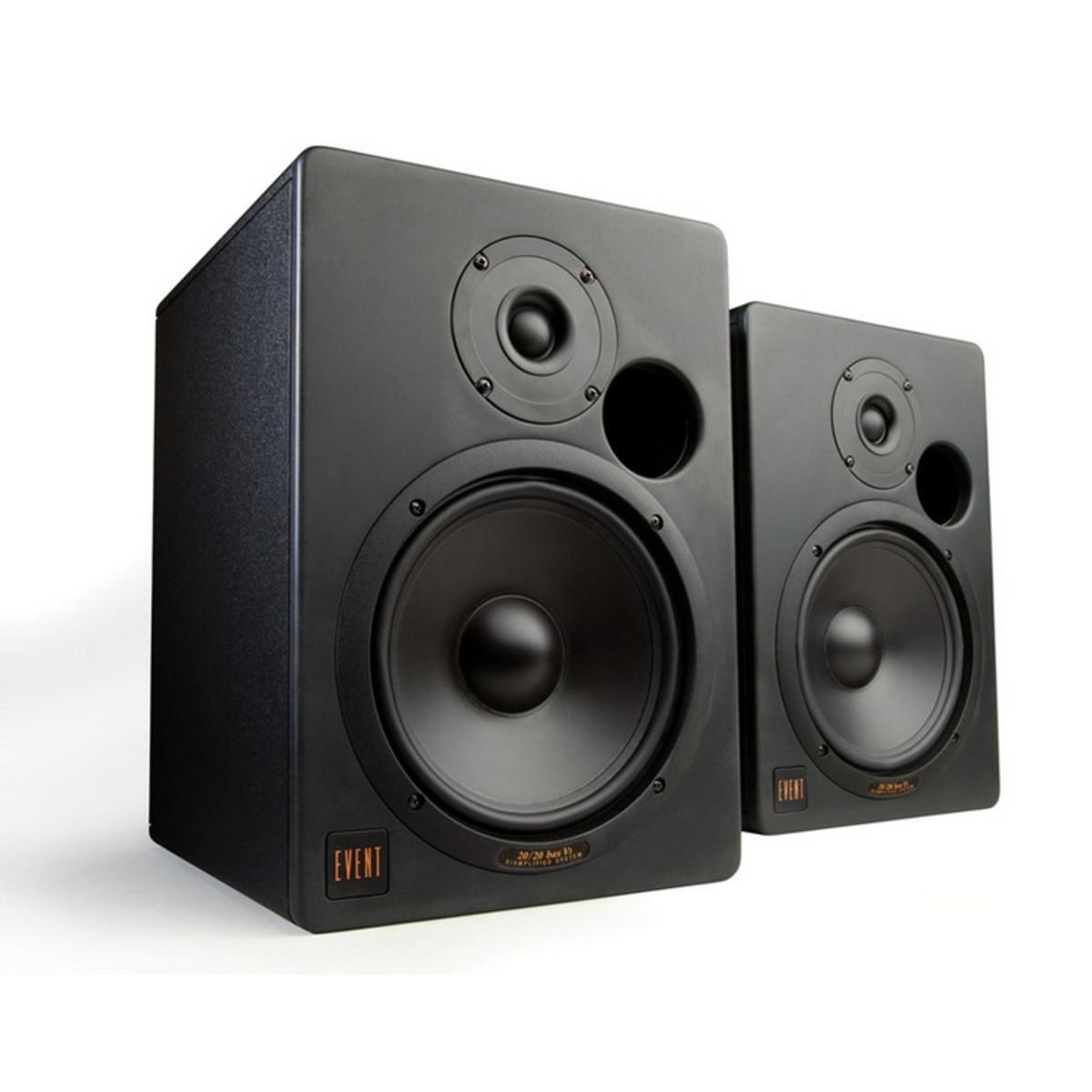 event 20 20 bas v3 active studio monitors pair ex demo at gear4music. Black Bedroom Furniture Sets. Home Design Ideas