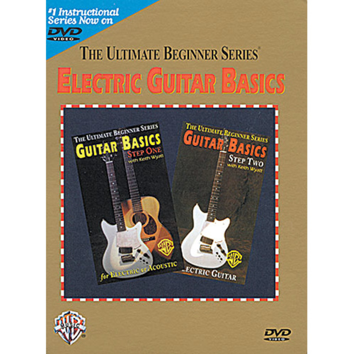 ultimate beginners electric guitar dvd at gear4music. Black Bedroom Furniture Sets. Home Design Ideas