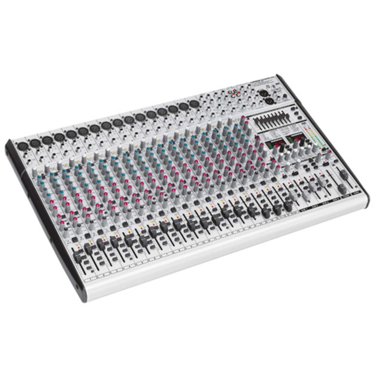 DISC Behringer SL2442FX Pro Eurodesk Mixer At Gear4music