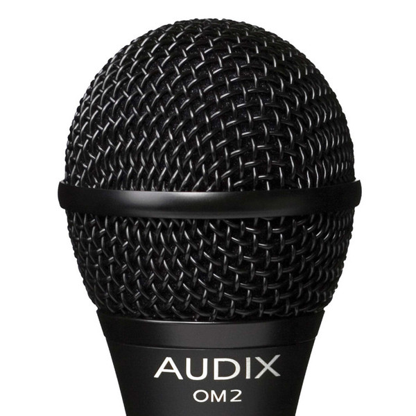 Audix OM2 Dynamic Vocal/Instrument Microphone Detail
