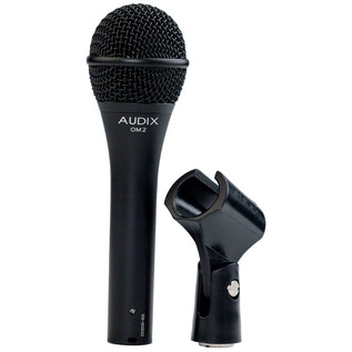 Audix OM2 Dynamic Vocal/Instrument Microphone with Clip