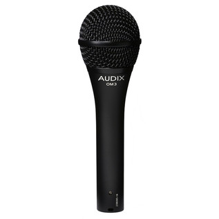 Audix OM3 Dynamic Vocal Microphone, Wide Response