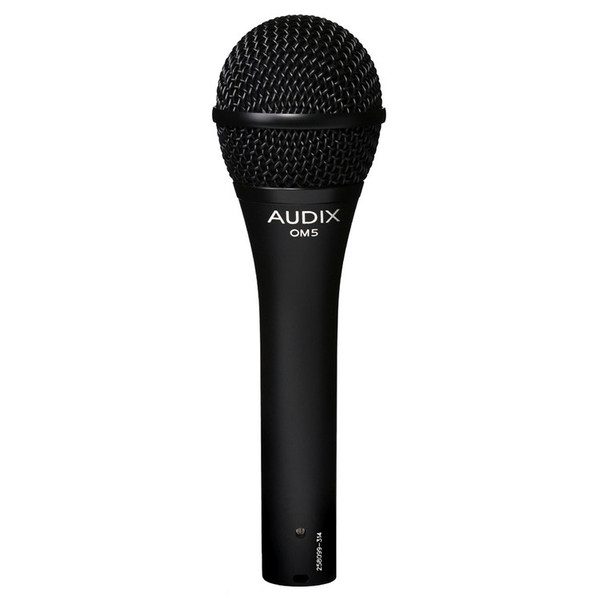 Audix OM5 Dynamic Vocal Microphone, High Output
