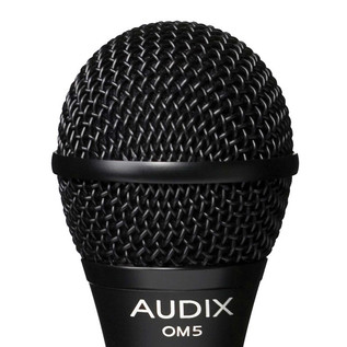 Audix OM5 Dynamic Vocal Microphone, High Output Detail