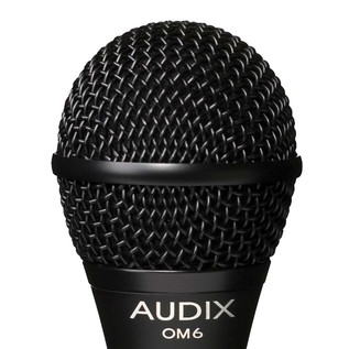 Audix OM6 Dynamic Vocal Microphone, Extended Low End Response Detail