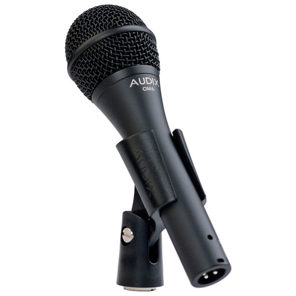 Audix OM6 Dynamic Vocal Microphone, Extended Low End Response in Clip