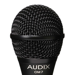 Audix OM7 Premium Dynamic Vocal Microphone Detail