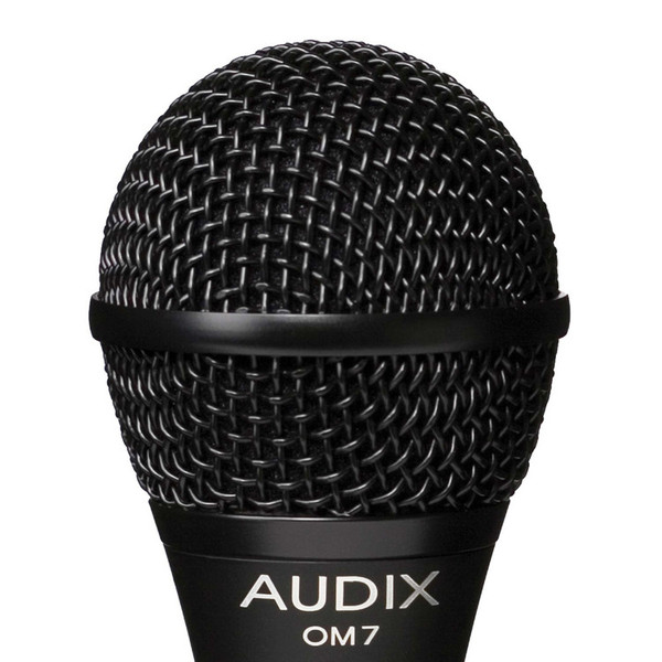 Audix OM7 Premium Dynamic Vocal Microphone Detail