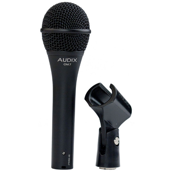 Audix OM7 Premium Dynamic Vocal Microphone with Clip