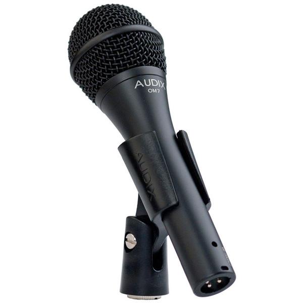 Audix OM7 Premium Dynamic Vocal Microphone in Clip