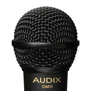 Audix OM11 Dynamic Vocal Microphone, 1985 OM1 Re-Issue Details