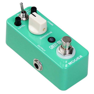 Mooer MOD1 Green Mile Overdrive Pedal with FREE Jack Patch Cables