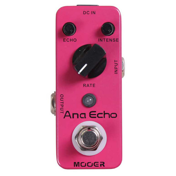 Mooer MAD1 Ana Echo Analog Delay Pedal with FREE Jack Patch Cables