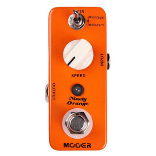 Mooer MPH1 Ninety Orange Analog Phaser Pedal FREE Jack Patch Cables